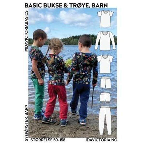 Bilde av Basic bukse & trøye (50-158)